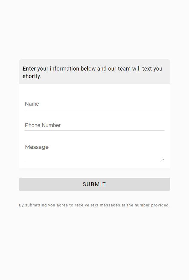 Text Message Widget